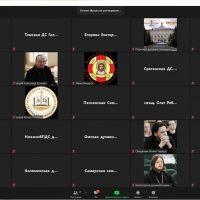 Участие в вебинаре Учебного комитета Русской Православной Церкви: «Присутствие в информационной среде духовных учебных заведений»